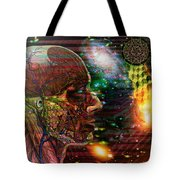 Solar Insight Of Tote Bag by Joseph Mosley