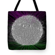 Solar Magnetic Field Tote Bag