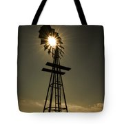 Solar Meets Wind Tote Bag by Barry C Donovan