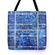 Solar Panels Background Tote Bag