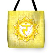 Solar Plexus Chakra - Awareness Tote Bag