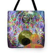 Solar Plexus Spirit Tote Bag by Joseph Mosley