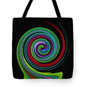 Solar Scroll Tote Bag
