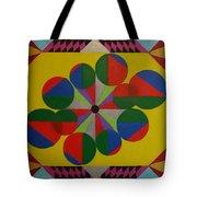 Solar Spin Tote Bag