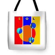 Solar Style Tote Bag