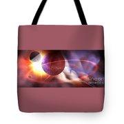Solar Turbulence Tote Bag