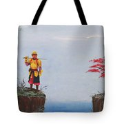 Soldier By Gorge Tote Bag