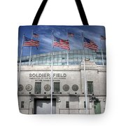 Soldier Field Tote Bag