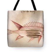 Soldier-fish, 1585 Tote Bag