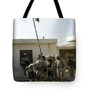 Soldiers From The Iraqi Special Forces Tote Bag