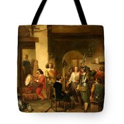 Soldiers In A Tavern During The Thirty Years Tote Bag