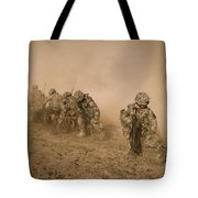 Soldiers In The Dust 2 Tote Bag