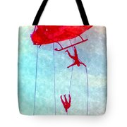 Soldiers In The Sky Tote Bag
