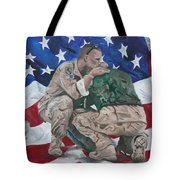 Soldiers Tote Bag