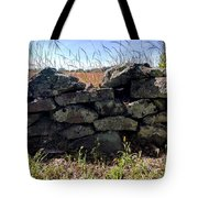 Soldier's View Of The Battlefield Tote Bag