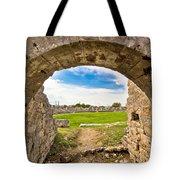 Solin Ancient Arena Old Ruins Tote Bag