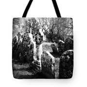 Solitary Cross At Fuerty Cemetery Roscommon Irenand Tote Bag