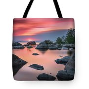 Solitary Island Tote Bag
