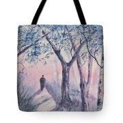 Solitary Man Tote Bag
