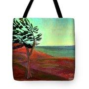 Solitary Pine Tote Bag