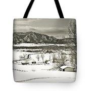 Solitude In Boulder County Tote Bag