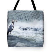 Solitude In Stormy Waters Tote Bag