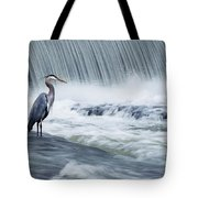 Solitude In Stormy Waters Tote Bag