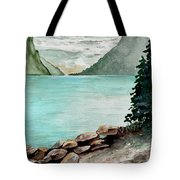 Solitude Of The Lake Tote Bag