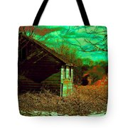 Solitude On The Backroads In Neon Tote Bag
