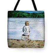 Solitude Upon The Lake Tote Bag