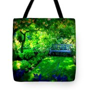 Solo Bench Tote Bag