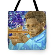 Solo Trumpet Tote Bag