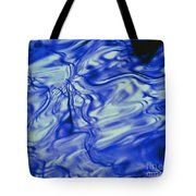 Solvent Blue Tote Bag