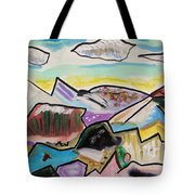 Some Gold In The Hills Tote Bag