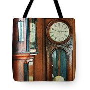 Somebodys Grandfathers Clocks Tote Bag