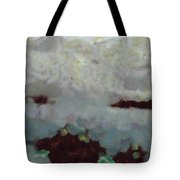 Someone Behind The Clouds Tote Bag