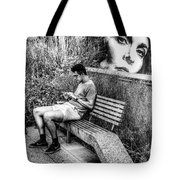 Someone Is Always Watching Tote Bag