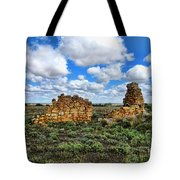 Someone Once Lived There Tote Bag