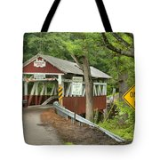 Somerset Backroad Crossing Tote Bag