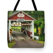 Somerset Burholder Covered Bridge Tote Bag