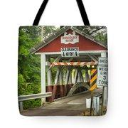 Somerset County Burkholder Covered Bridge Tote Bag