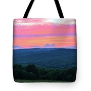 Somerset Sunset Vertical Tote Bag