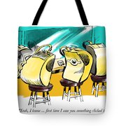 Something Clicked. Tote Bag