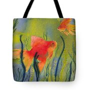 Something Fishy Going On Tote Bag