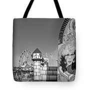 Something For Everyone - Bw Tote Bag