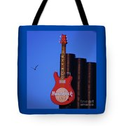 Hard Rock Cafe Sign In Baltimore Tote Bag
