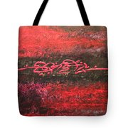 Something In Red Tote Bag