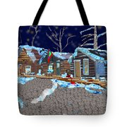 Something In The Night Tote Bag