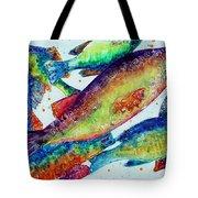 Something's Fishy Tote Bag