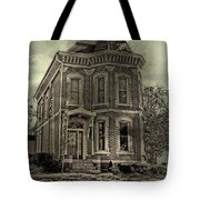Something's Happening Here Tote Bag
